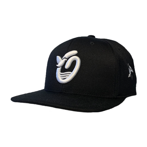 Outsider's Dove O - Black -  FlexFit Snapback