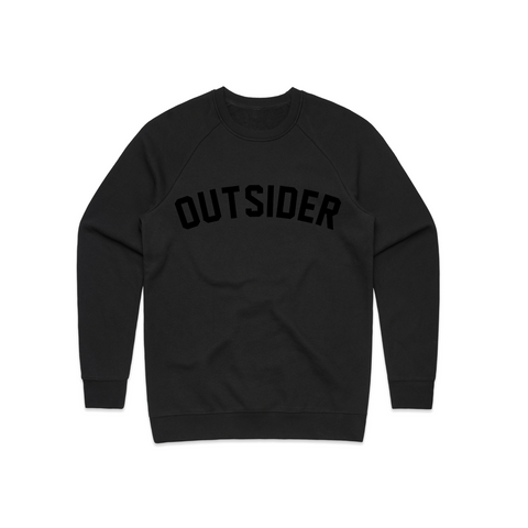 G'D Up Logo | Black on Black Crewneck