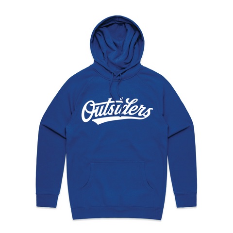 Tackle Twill BB Script | Blue Hoodie