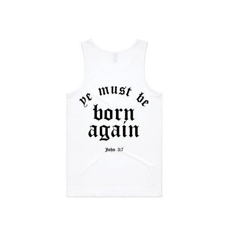 Born Again | White T-shirt