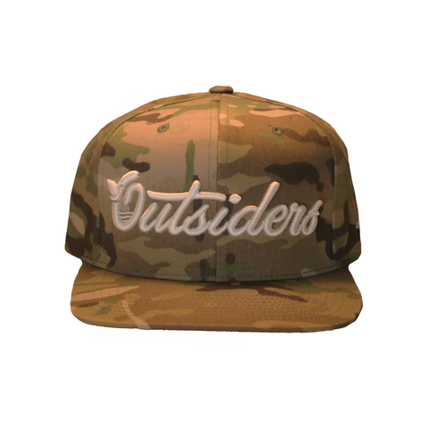 Outsiders Dove Logo | Camo Snapback