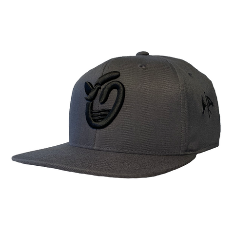 Outsider's Dove O - Dark Gray -  FlexFit Snapback