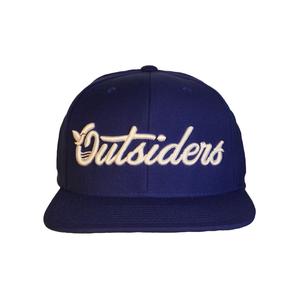 Outsiders Dove Logo | Blue Snapback