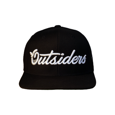 Outsiders Dove Logo | Black Snapback