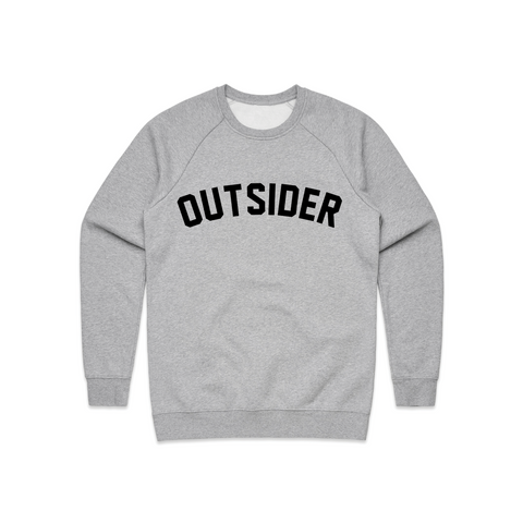 G'D Up Logo | Heather Gray Crewneck
