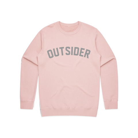 G'd Up Logo | Pink Crewneck
