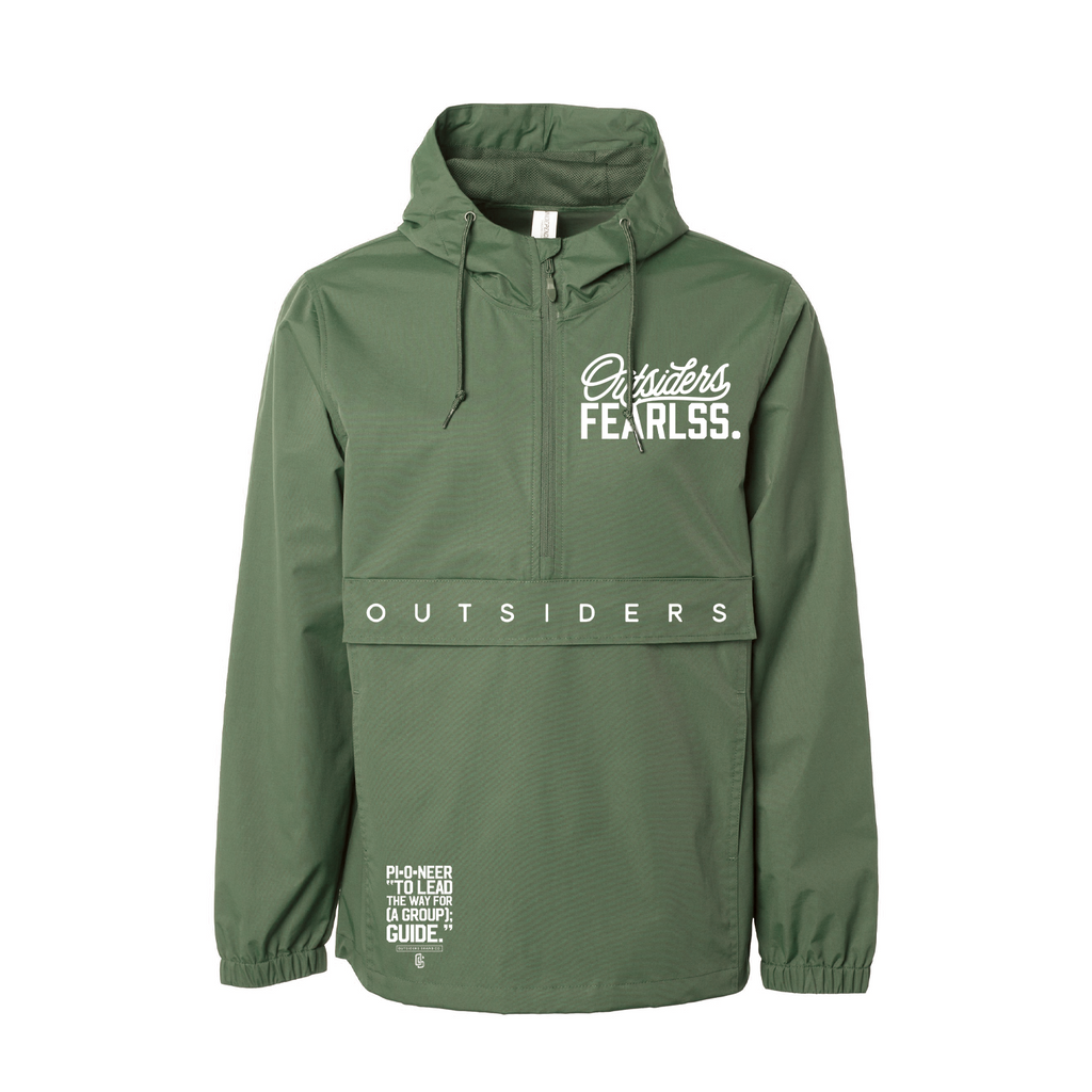 Outsiders Fearlss. | Lightweight Pullover Windbreaker