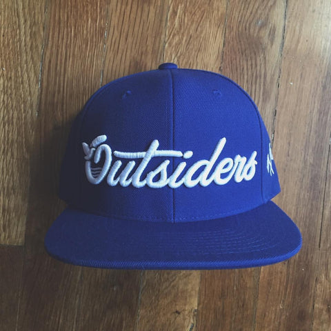 Outsiders Dove Logo - Blue - Woven Snapback