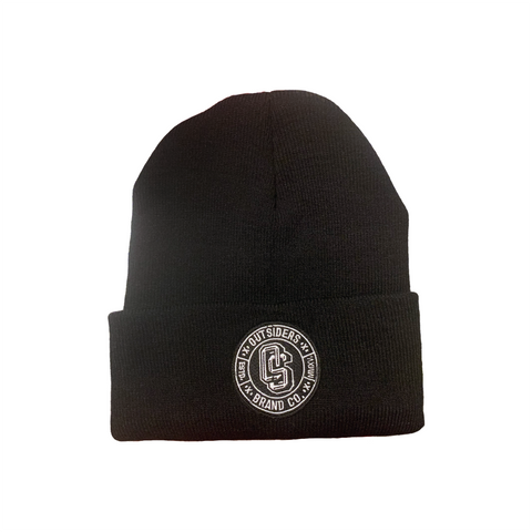 Outsiders Logo | Black Beanie