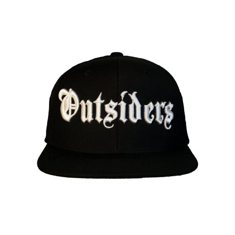OE Outsiders Logo | Black Snapback