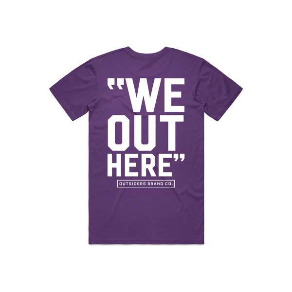 Outsiders Varsity | Purple T-shirt