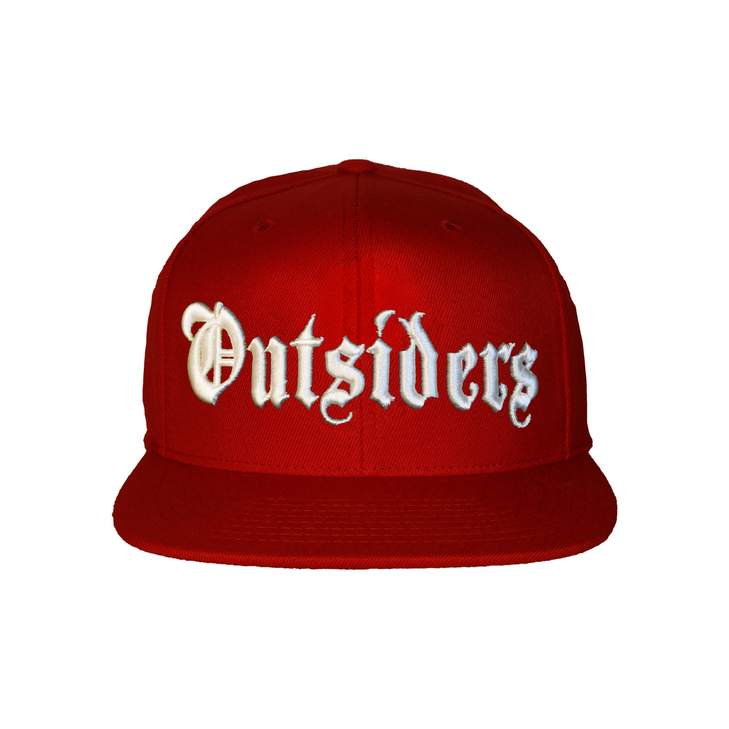 OE Outsiders Logo | Red Snapback