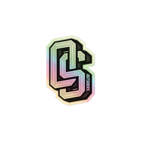 OS Logo | Holographic Sticker