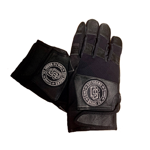 Outsiders Logo | Black Gloves