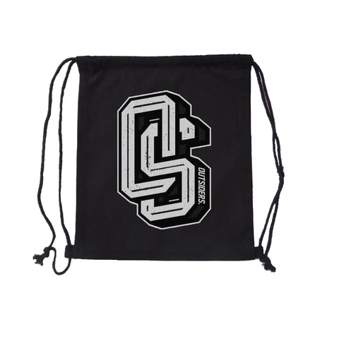 Outsiders OS - Black - Drawstring Bag