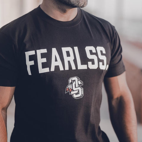 Fearlss Warrior | Black T-Shirt
