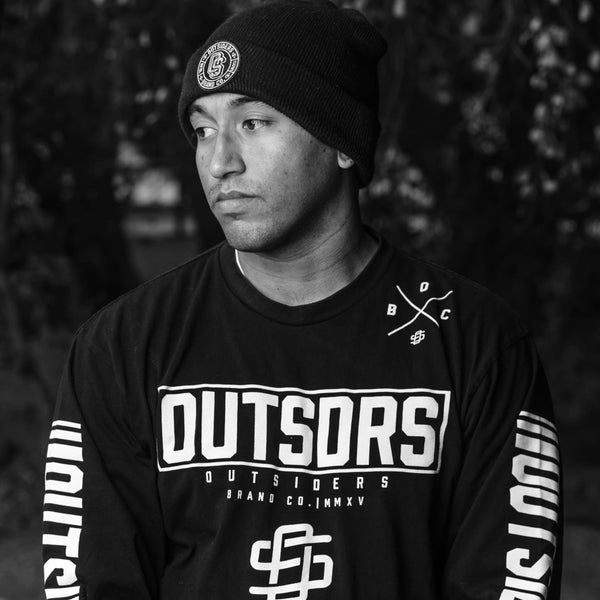 Outsdrs Soldado | Black Long Sleeve T-shirt