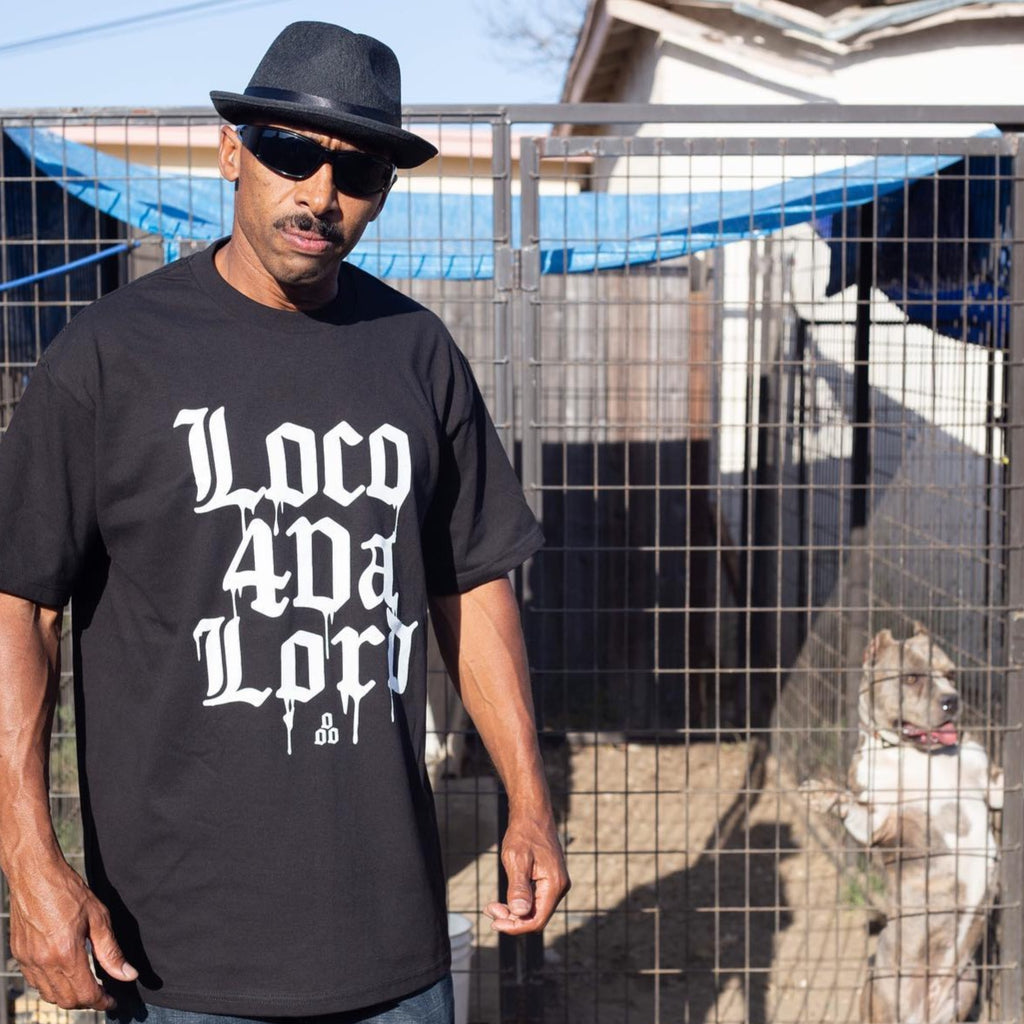 Loco 4'Da Lord | Black T-Shirt