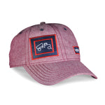 Cap Chambray Red