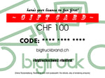 Gift Card 'Licence To Fun First' CHF 100