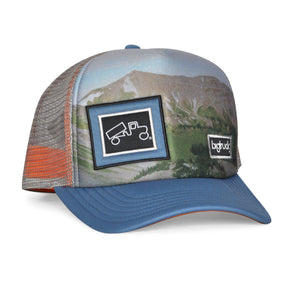 OG Sublimated Mountain Glow Blue