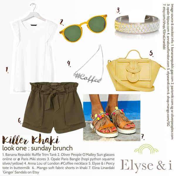 Killer Khaki Look One