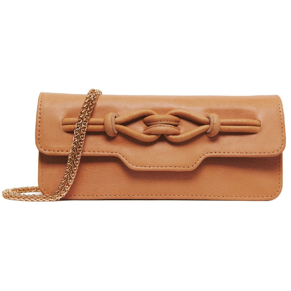 Noa Chain Wallet - Peach