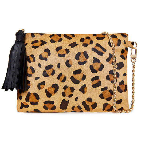 Anya Bag - Leopard/Black