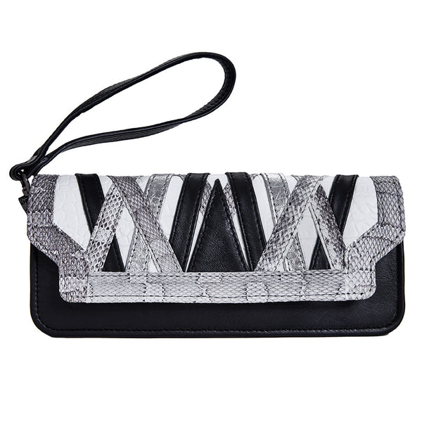 Aya Wristlet/Wallet - Shades of Grey