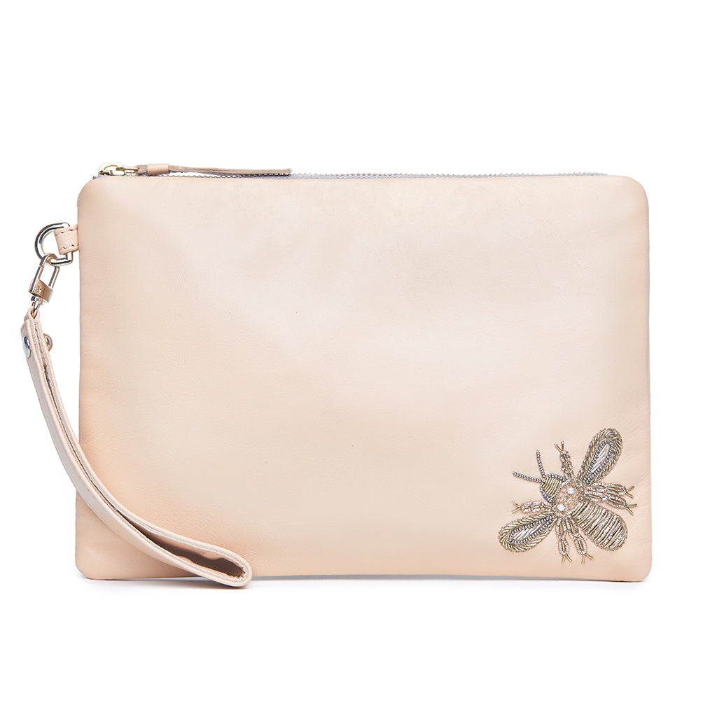 Bee Mine - Blush Pouch