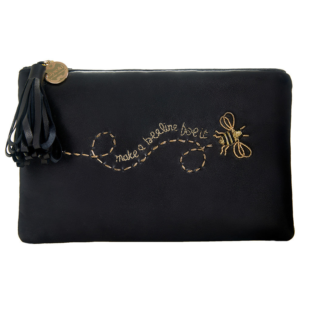 Bee Pouch Black