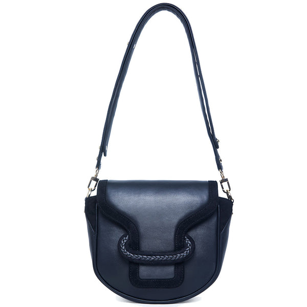 Emma Saddle Bag - black