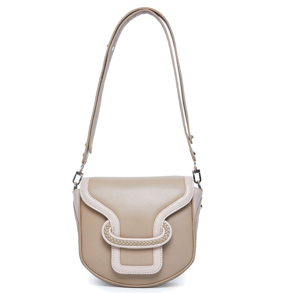 Emma Saddle Bag - cappuccino