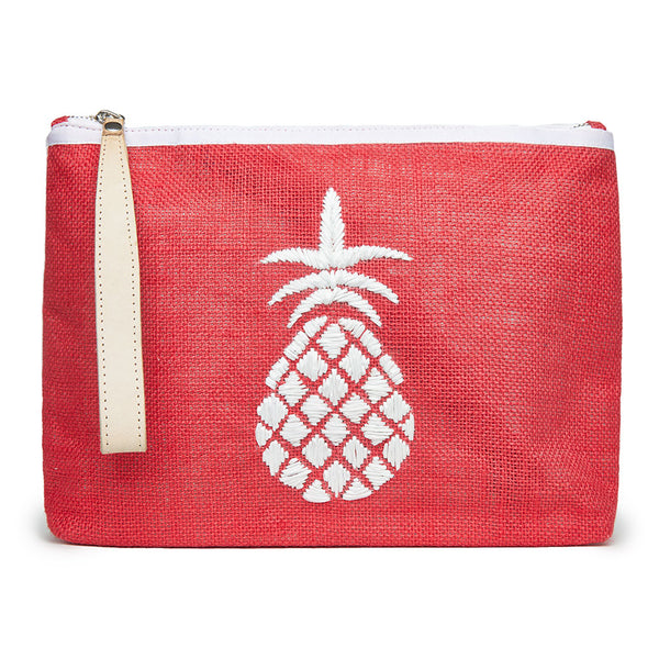 Maisie Pineapple Pouch - Red