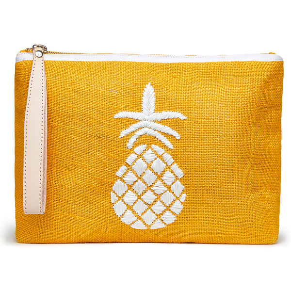 Maisie Pineapple Pouch - Orange