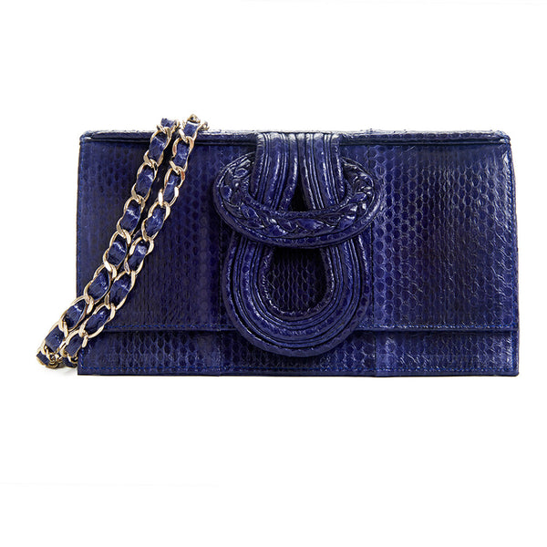 Nell Snake - Dark Navy Blue