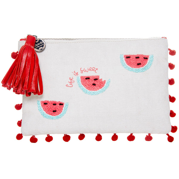 Life is Sweet Watermelon Pouch