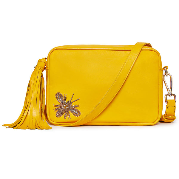 "Felix Camera Bag - Marigold ""Bee"""