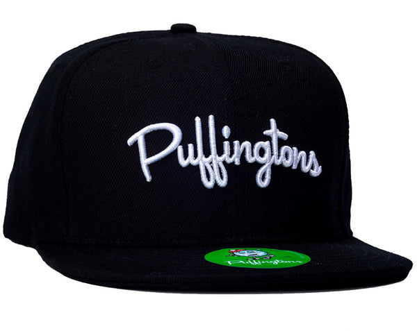 Puffingtons Logo Snap Back