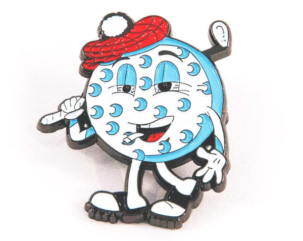 Mr Puffy Pin