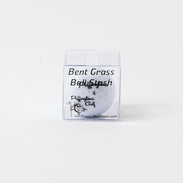 Bent Grass Golf Ball Stash