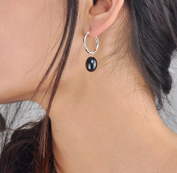 "Majestic ""Créole"" Earrings - Night"