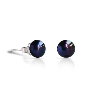Boucles Dauphines (7.5-8mm) - Nuit