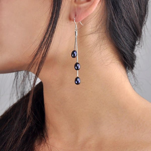 Goddess Tears Earrings - Night