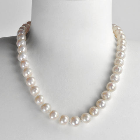 Collier Athéna - Perles Neige
