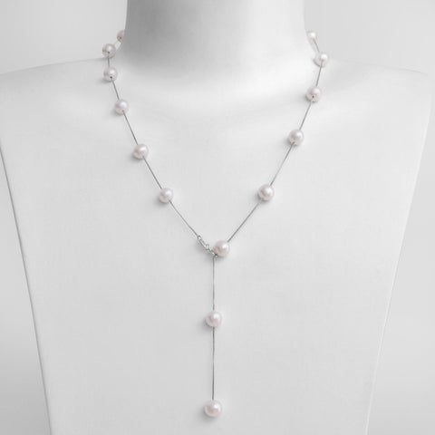 Collier Charmeuse - Neige