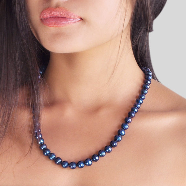 Necklace Countess 53cm - Night Blue