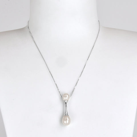 Collier Chaine Equilibre - Neige