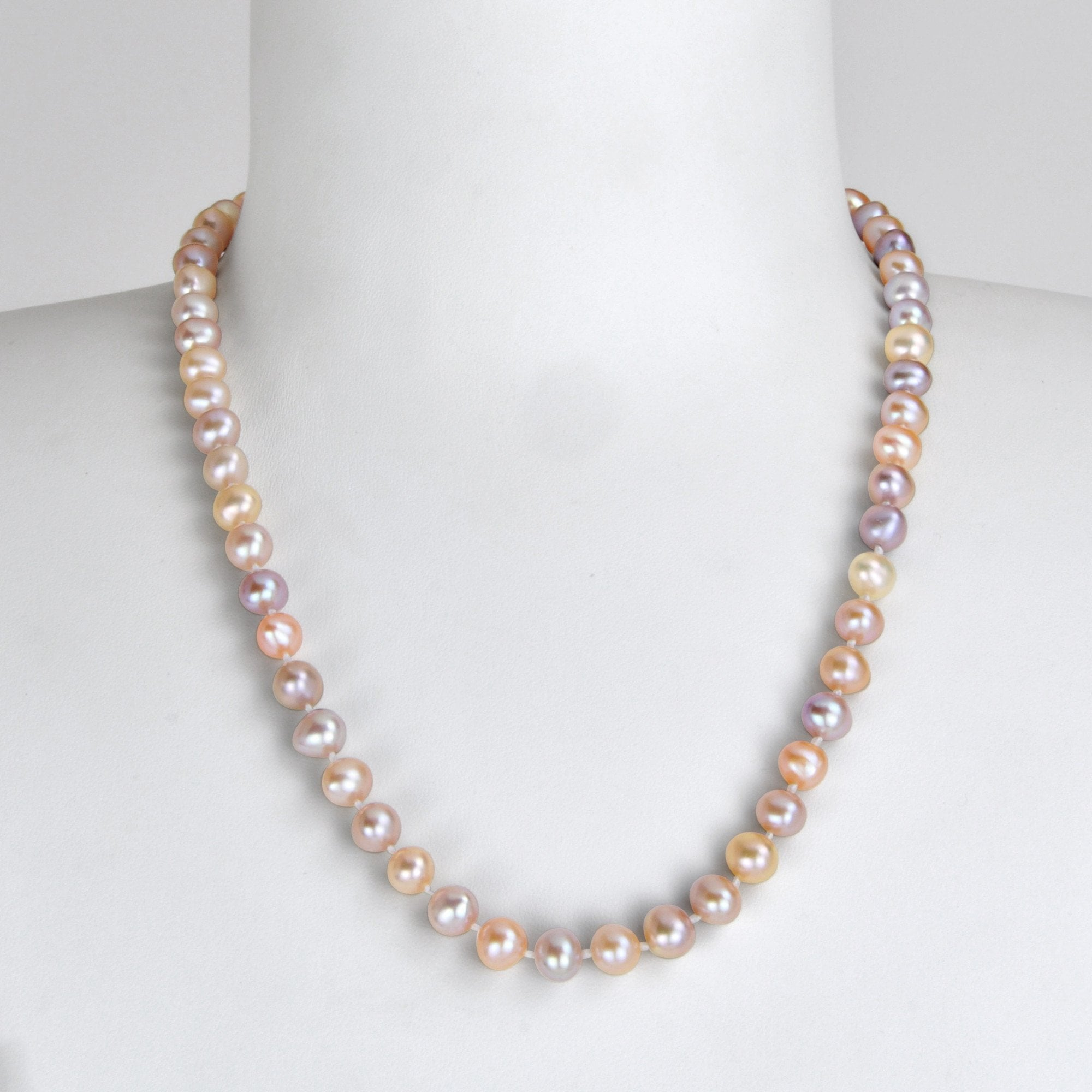 "Collier ""Princesse"" - Variations lilas"