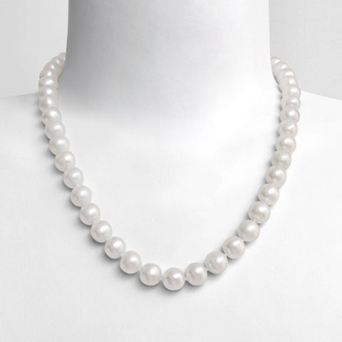 Collier Comtesse (9mm) - Neige